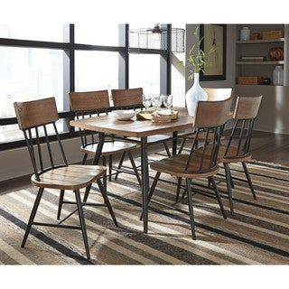 Signature Design by Ashley Jorwyn Light Brown Rectangle Dining Room Table