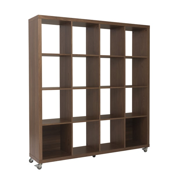 Sabra 4X4 Shelving Unit - Walnut