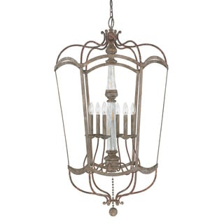 Austin Allen & Company Zoe Collection 6-light French Antique Foyer Pendant