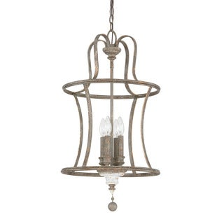 Austin Allen & Company Zoe Collection 4-light French Antique Dual Mount Pendant