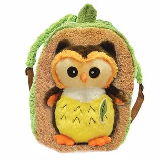 Plush Best Buddy Toddler Backpack Bright Eyes Owl
