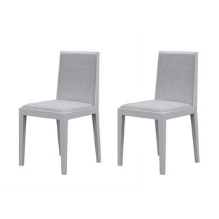 Argo Furniture Timber Upholstered Dining Chair (Set of 2)