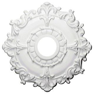 Ceiling Medallion 18-inch Scallop Design