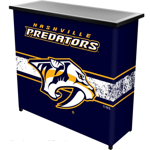 NHL Portable Bar with Case - Nashville Predators