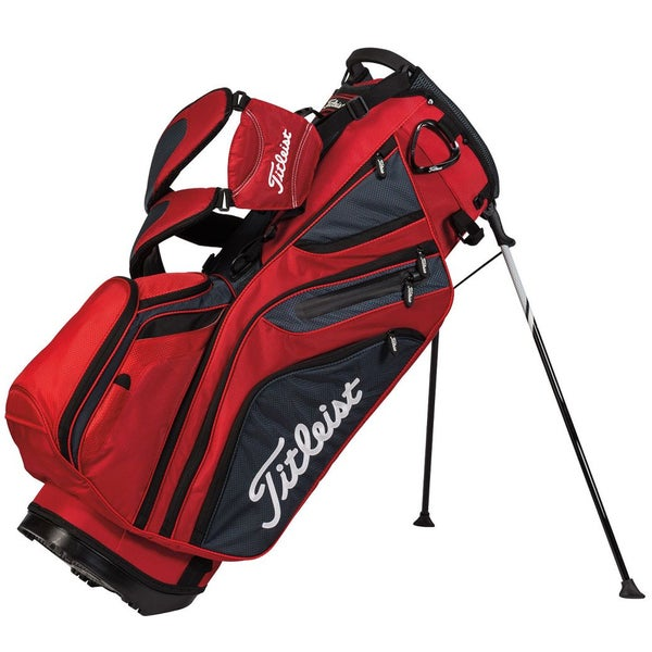 Titleist 14-Way Red/Charcoal/Black Stand Bag
