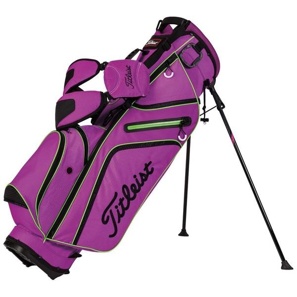 Titleist Ultra Lightweight Purple/Lime/Black Stand Bag