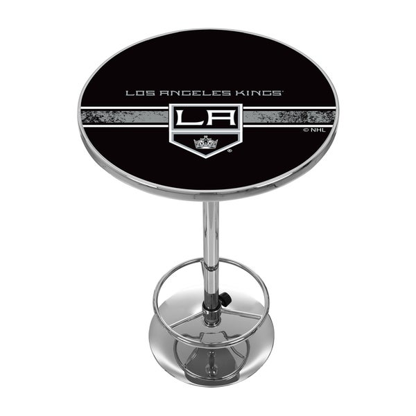 NHL Chrome Pub Table - Los Angeles Kings