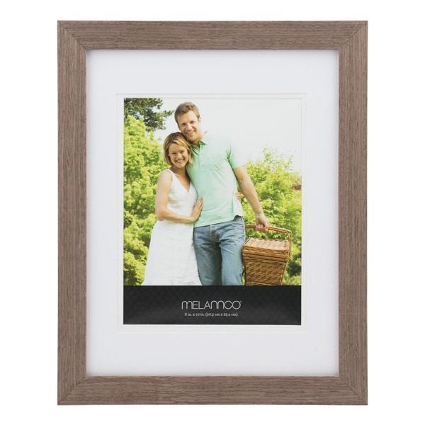 Melannco 8x10 Walnut Frame
