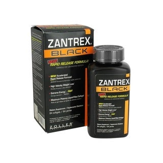 Zantrex Black Rapid Release Weight Loss Formula (84 Softgels)