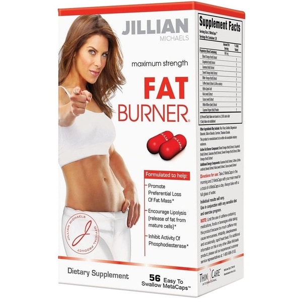 Jillian Michaels Maximum Strength Fat Burner (56 Metacaps)