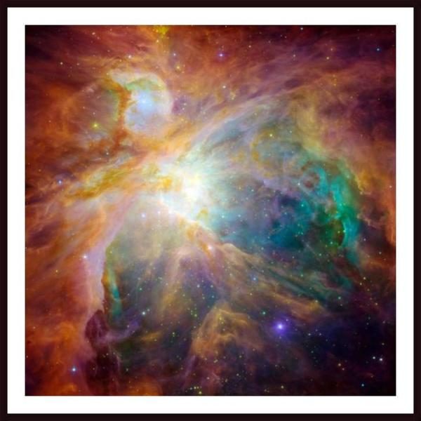 Stocktrek Images 'The Orion Nebula' Framed Art