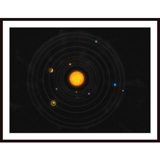 Stocktrek Images 'Solar System' Framed Art