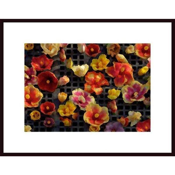 John Nakata 'Hibiscus Array' Framed Art