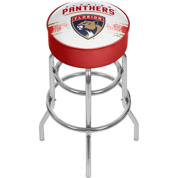 NHL Chrome Bar Stool with Swivel - Florida Panthers 16572753