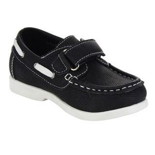 Beston GA59 Children Toddlers Hook-And-Loop Slip On Athletic Oxford Loafers