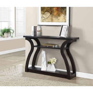 47-inch Cappuccino Hall Console Accent Table