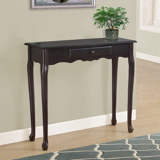 Monarch Dark Cherry Finish Accent Table
