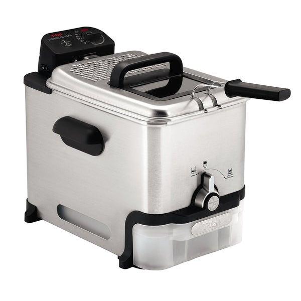 T-fal FR8000 Stainless Steel 3.5-Liter Immersion Deep Fryer