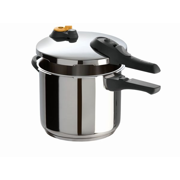 Ultimate SS Pressure Cooker 6-quart