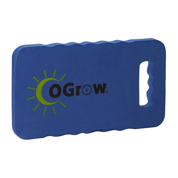 "oGrow 1"" Thick Garden Kneeling Pad - Blue"