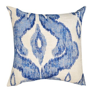A1 Home shaded Ikat Textured Cotton 18 Inch Throw Pillow