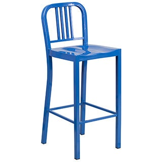 42-inch Metal Bar Stool