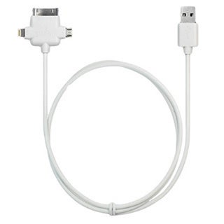 iPanda 10FT 3-IN-1 Sync and Rapid Charge Cable