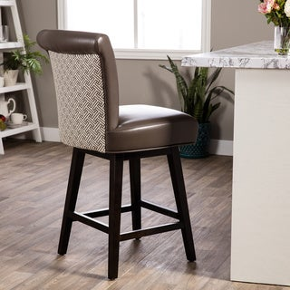 Hazelton Home Bryce Counter Stool In Fabric