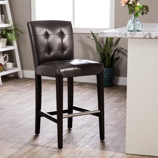 Walnut Finish 24 Inch Counter Stool 14768155 Overstock