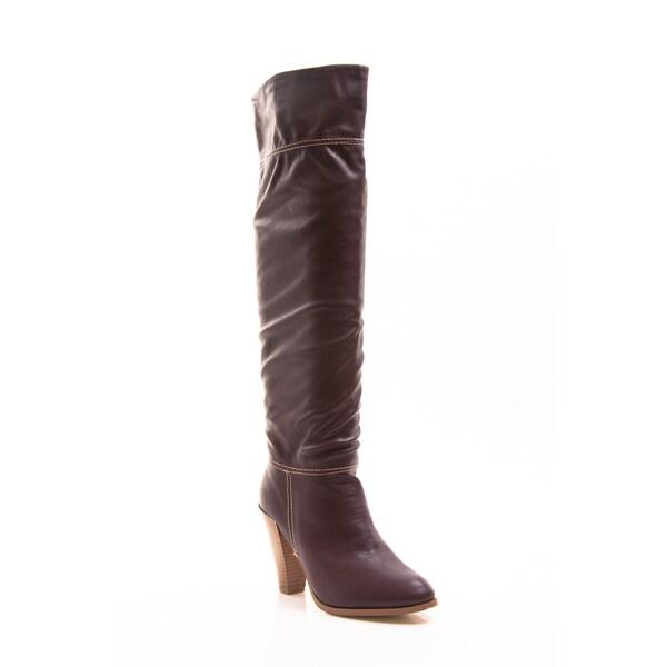 Gomax Women's Prima Donna-01 High Heel Knee-High Boot