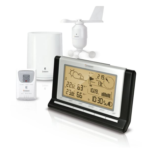 Oregon Scientific Wireless Pro Weather Station with USB Upload