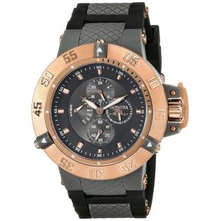 Invicta INV0790 Men's 17126 Subaqua Analog Display Japanese Quartz Black Watch