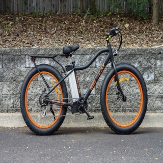 Fat Cat X Black/ Orange Electric Bicycle