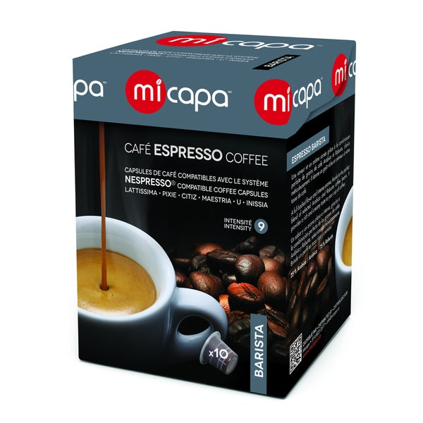 Micapa Nespresso Compatible Coffee Capsules (100 Pack or 200 Pack)