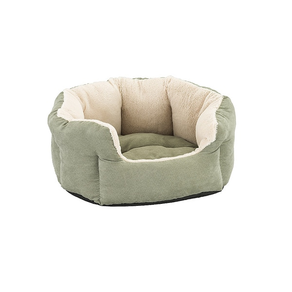 Spot Sleep Zone Cozy Pet Bed- Reversible Cushion Bed