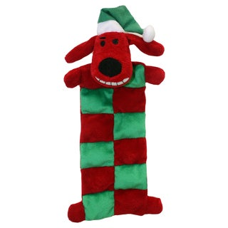 Multi-pet International Loofa Santa Squeaker Mat