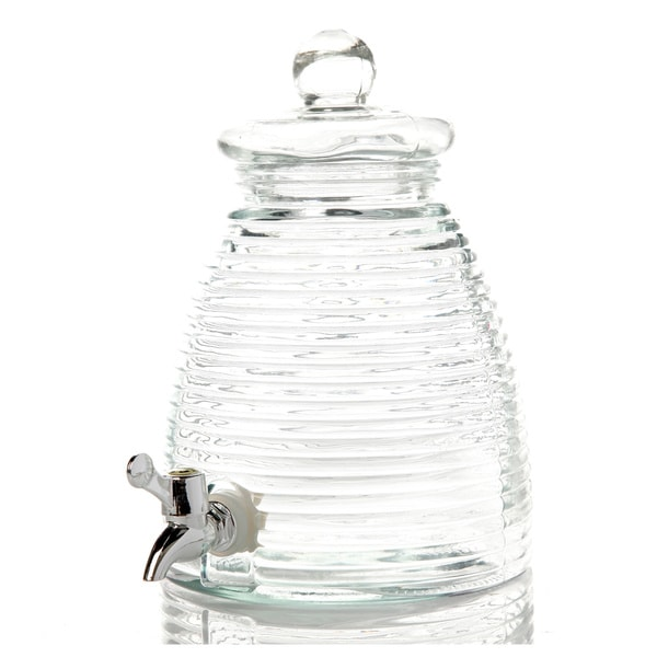 Bee Hive Beverage Dispenser 1 Gallon