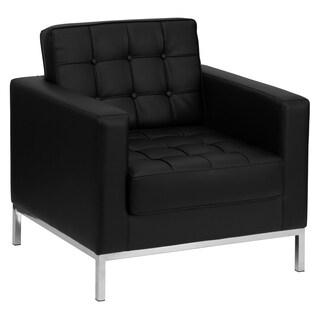 Black reception chair