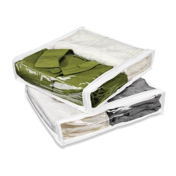 4pk storage bags, white