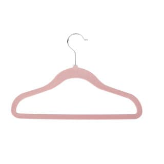 Honey-Can-Do Pink Kids Velvet Touch Hangers (60-pack)