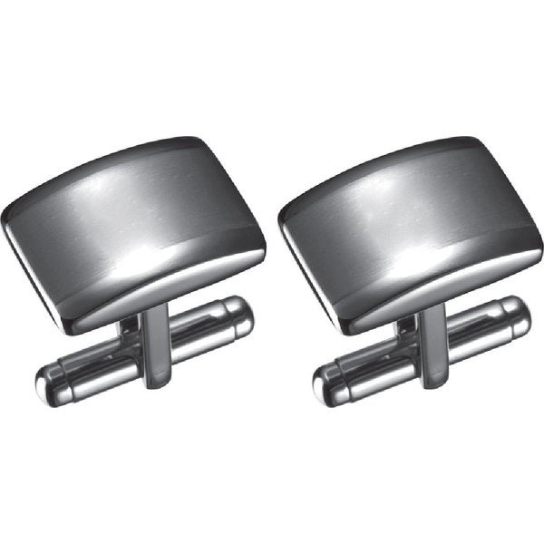 Visol Fidel Stainless Steel Cufflinks