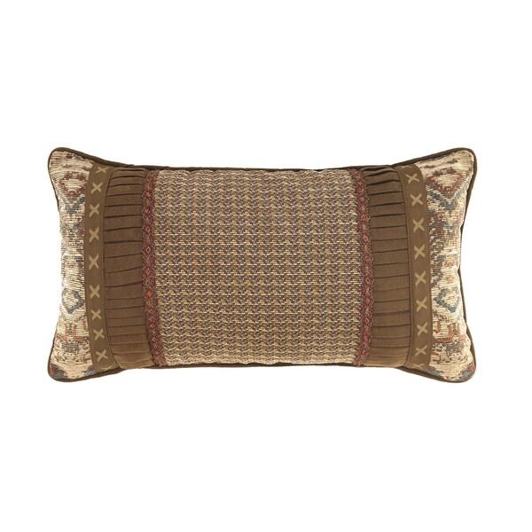 Croscill Home Salida Brown Boudoir Pillow
