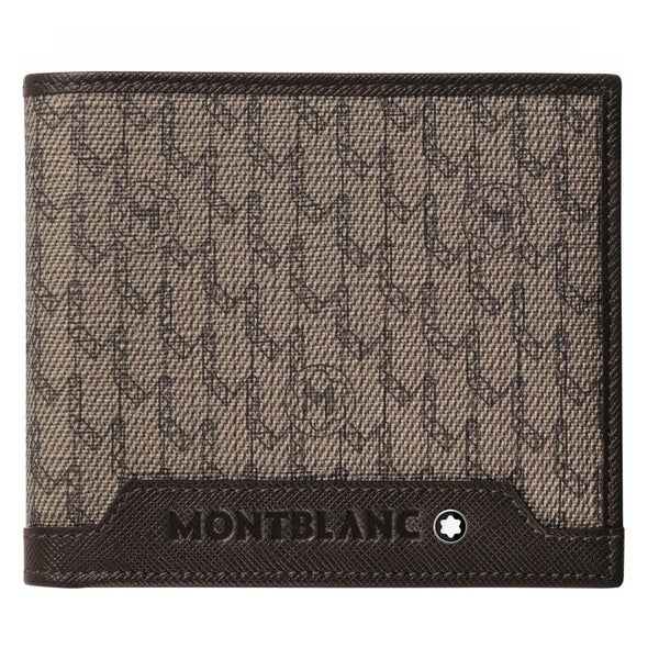 Montblanc Signature Wallet 8cc Stone/Brown