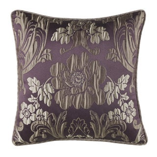Croscill Everly Plum and Gold 16-inch ThrowPillow