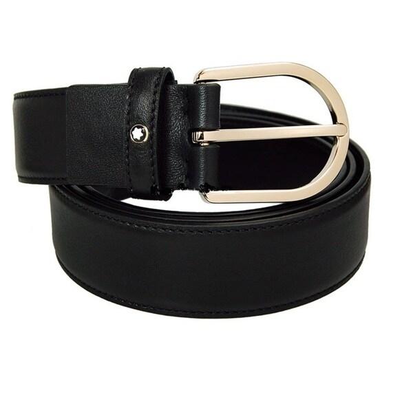 Montblanc 109747 Horseshoe Classic Line Men's Belt
