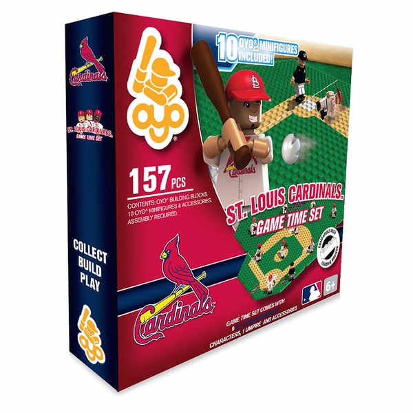 St. Louis Cardinals MLB 157-Piece Gametime Field Set