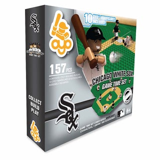 Chicago White Sox MLB 157-Piece Gametime Field Set