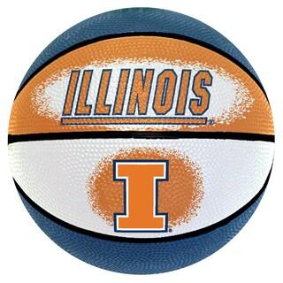 Spalding Illinois Fighting Illini 7-inch Mini Basketball