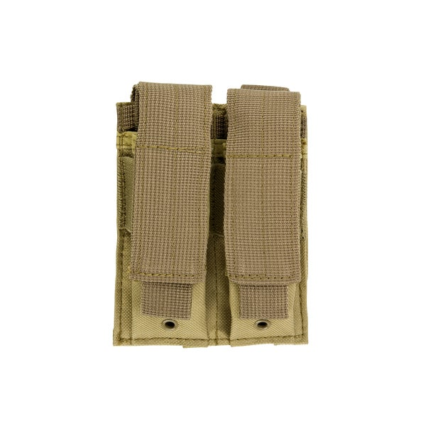 NcStar Double Pistol Mag Pouch Tan 16585463