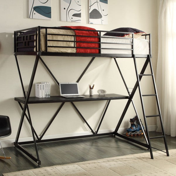 Zinnia Study Bunk Bed